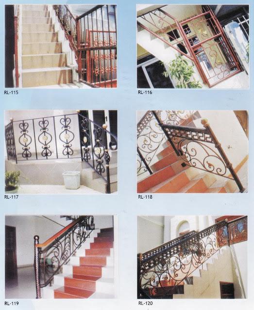 Galeri ide Model Railing Tangga Dan Balkon 2015 yang fungsional