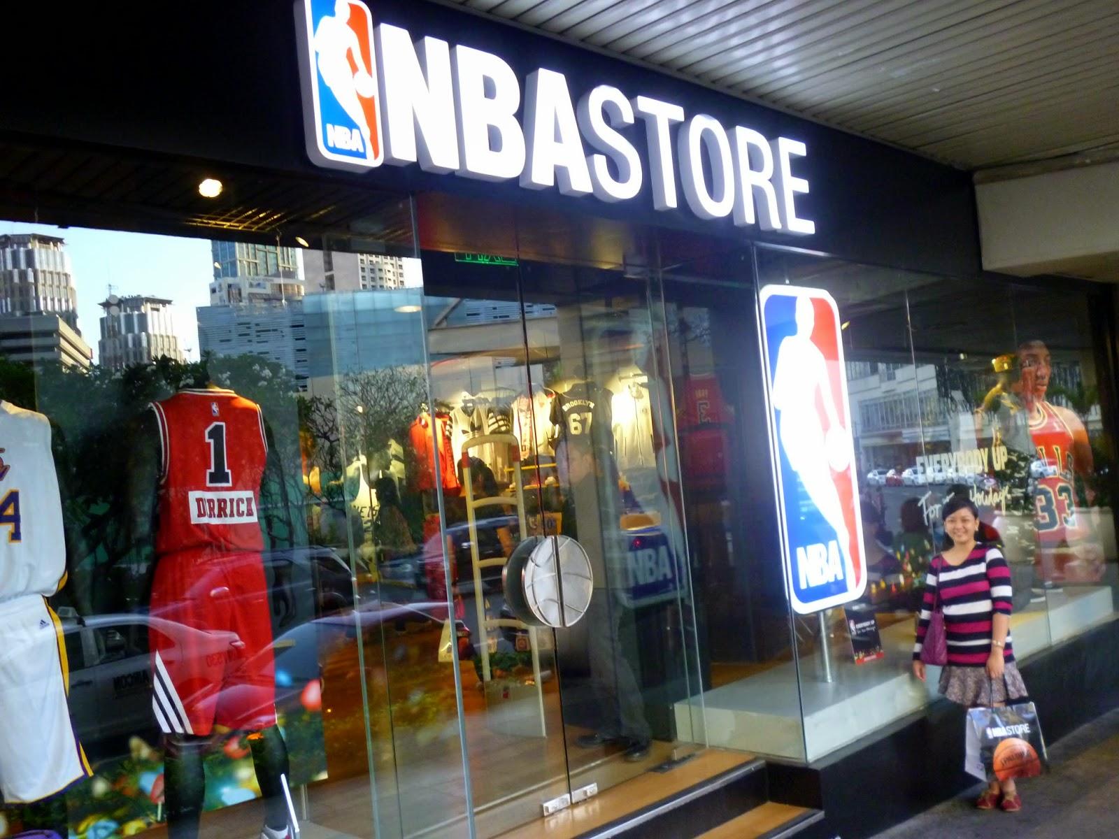 dd1895ccab2eb Fashion Sage  NBA Store Opens in the Philippines