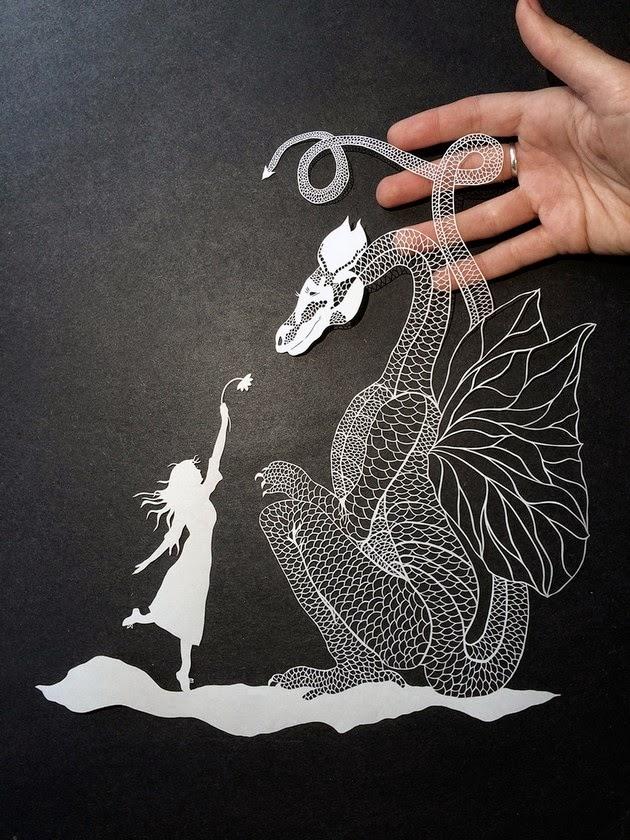 cut paper art illustrations maude white--4