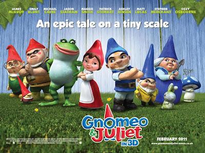 Wallpaper Gnomeu e Julieta