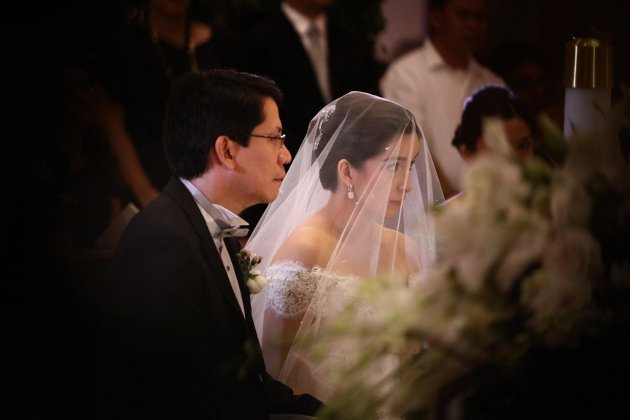 shalani soledadroman romulo wedding picturesphotos � video