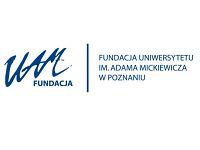 Logo Fundacji Uniwersytetu im. Adama Mickiewicza
