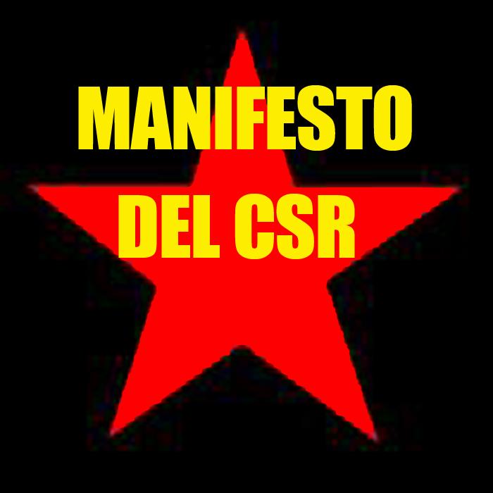 MANIFESTO DEL CSR