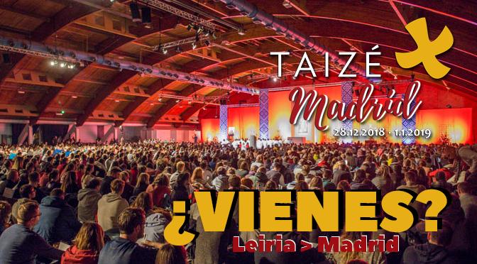 Encontro Europeu de Taizé em Madrid