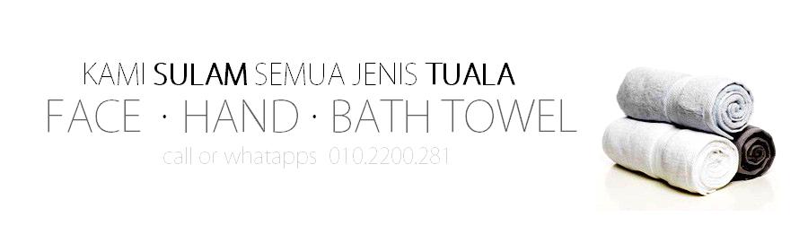 Tuala Muka Tangan Mandi | Face Towel | Hand Towel | Bath Towel