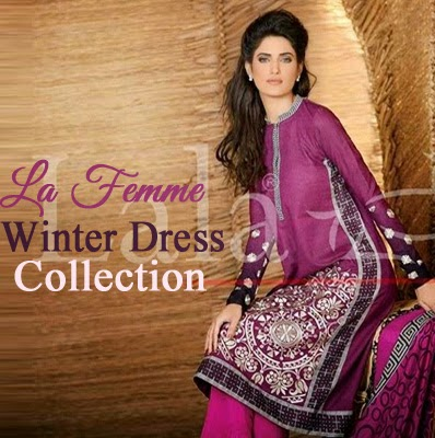 La Femme Winter Dress Collection