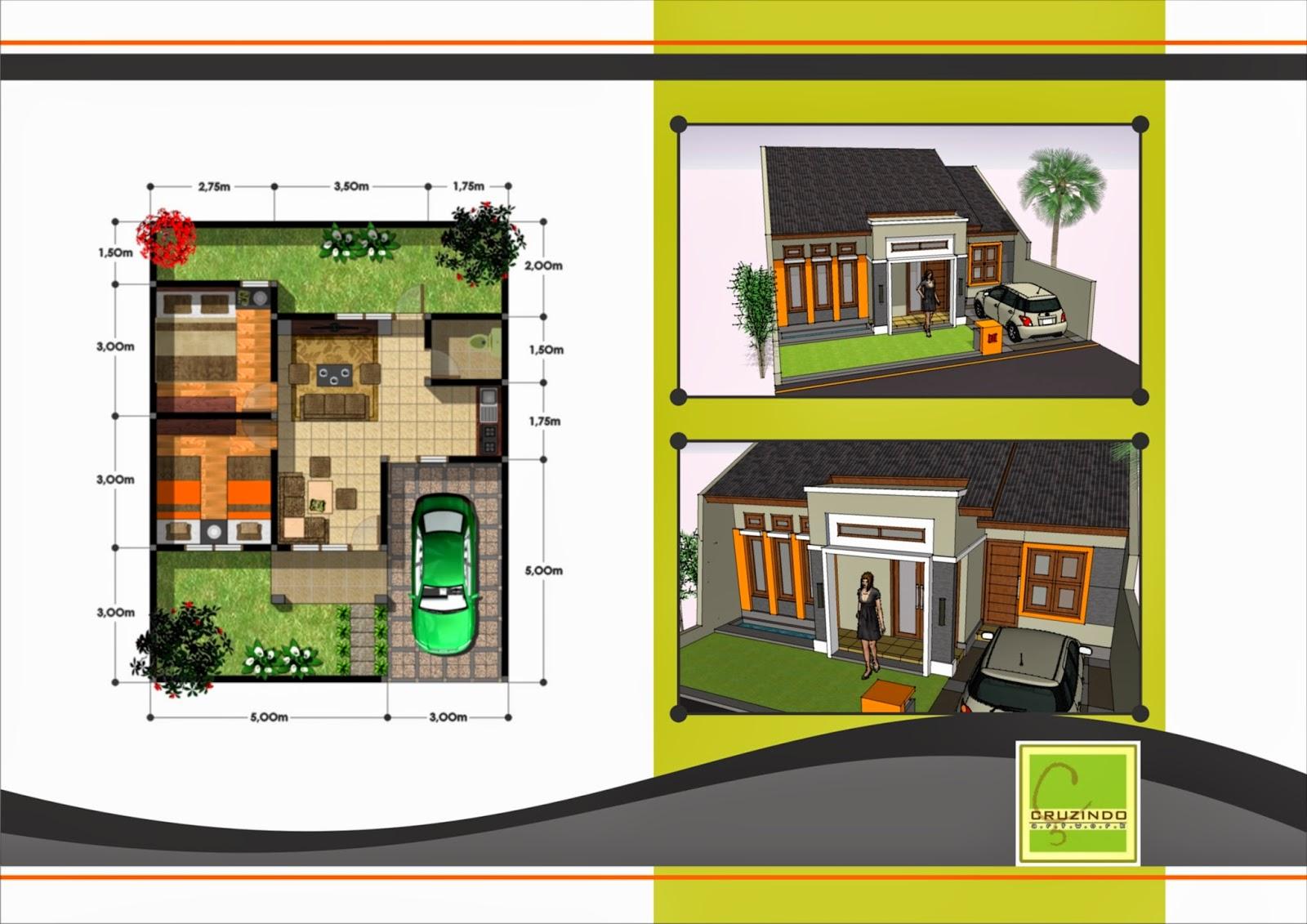 Desain Rumah Minimalis 1 Lantai Dan Denah Foto Desain Rumah