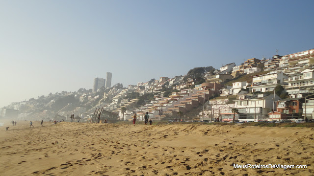 Playa Reñaca - Viña del Mar, Chile