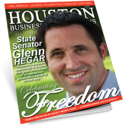 "MEET SENATOR GLENN HEGAR A ""THOUGHT LEADER"" FOR THIS SERIES"