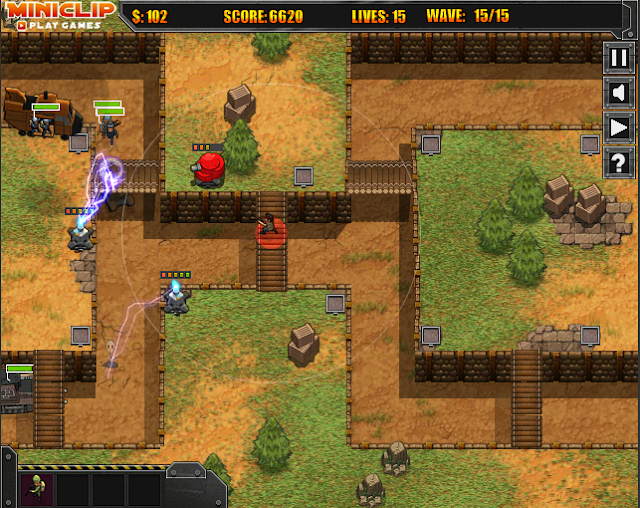 Commando Defense Miniclip Game Tower Defense
