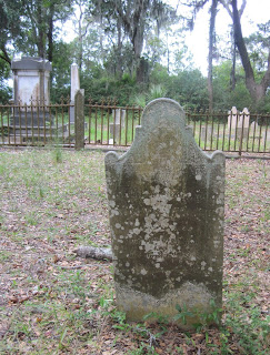 Gravestone of Martha Davant
