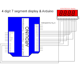 Arduino Tip: 7 segment LED display with 4094 shift