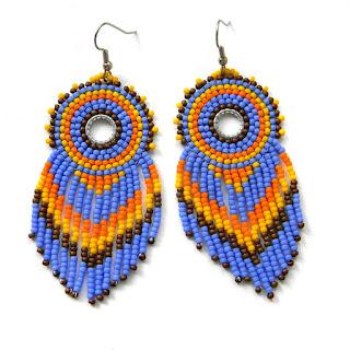 beadwork seed bead earrings beaded dangle earrings bohemian jewelry