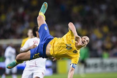 El 'escorpión' de Zlatan que pudo pasar a la Historia