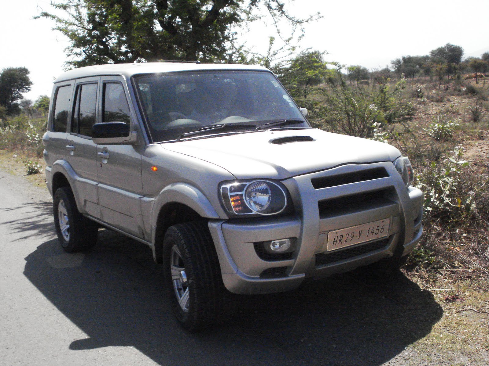 Just about CARS: Modified Scorpio