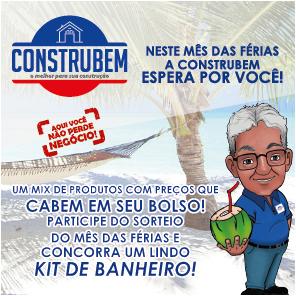 PROMOÇÃO MÊS DE JULHO - CONSTRUBEM
