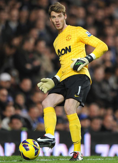 David de Gea Goalkeeper Manchester United 20132014