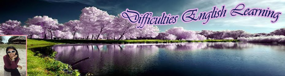 Difficulties in English Learning