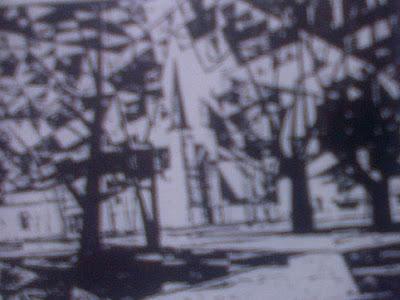 Karya seni lukis bentuk abstrak ( ITB )