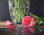 """Reflections of ""Pink and Green"" By Lorraine Vatcher"