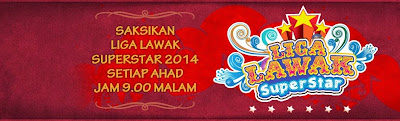 Live Streaming Tonton Online Download Liga Lawak Superstar Musim 2 TV3 2014
