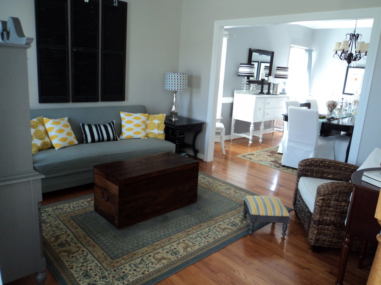 Richmond Thrifter Living Room Redo On A Budget