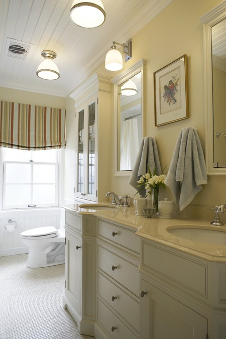 New home interior design philip mitchell designs for Small cottage bathroom ideas