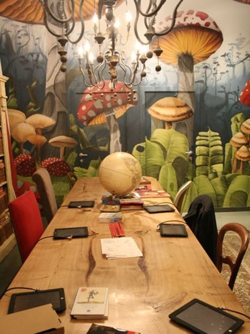 Darkly darling top three cafes i want to visit for Alice in wonderland kids room