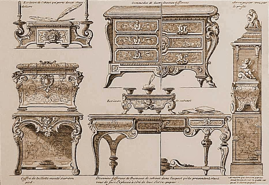 Print, Date: 1707, André-Charles Boulle,(Designer) Mariette, Jean, born 1660 - died 1742 (Publisher)