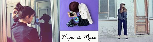 Grafika przedstawiająca kobietę Mure et Musc