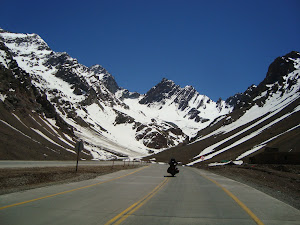 Los Caracoles, Cordilheira dos Andes