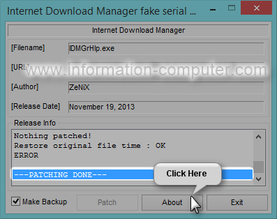 fake serial number idm 2016