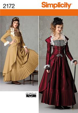 Here is the Simplicity pattern I will be creatingJubilee Halloween Costume