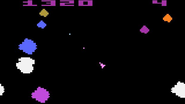 Atari 2600 Asteroids