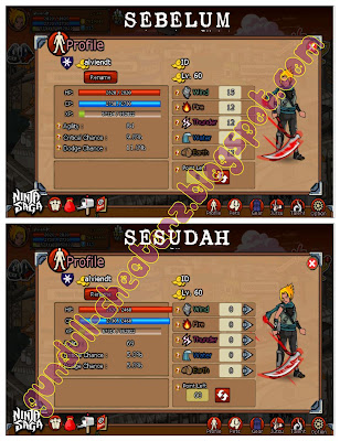 Reset Point In Battle | CE (Ninja Saga Cheat)