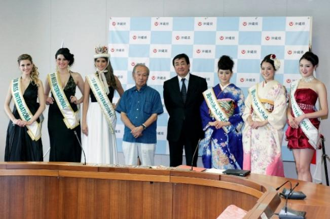 Miss International 2012 venue location host country is Okinawa Japan