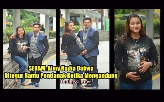 Punca Almy Nadia Dakwa Ditegur Hantu Pontianak Ketika Mengandung Menakutkan