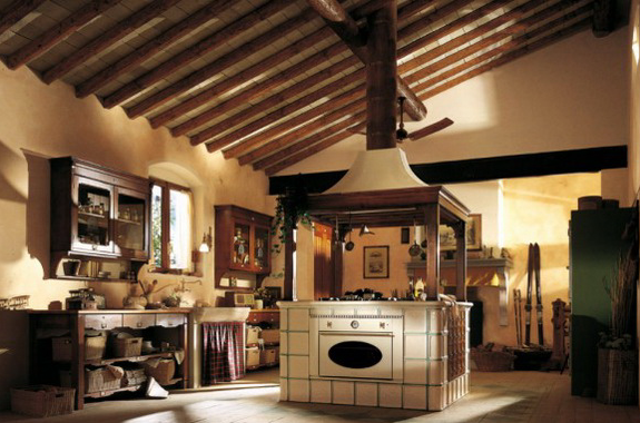 Die Küche im Landhausstil. Fotos Rustikale Finca