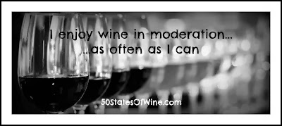 I enjoy wine in moderation...