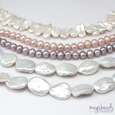 Pearls - magsbeadcreation.com
