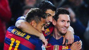 Trio MSN Barcelona vs Valencia 7-0 Video Gol