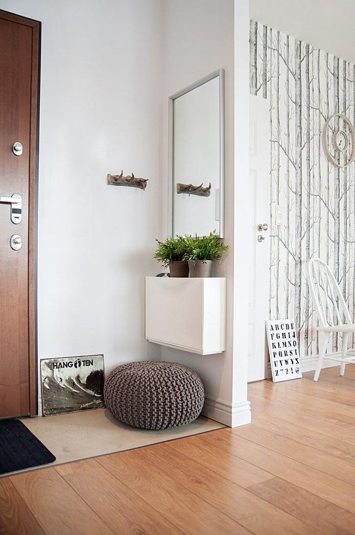 Decoracion de recibidores peque os modernos - Colores para recibidores ...