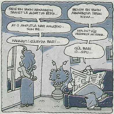 Yiğit Özgür Karikatürü