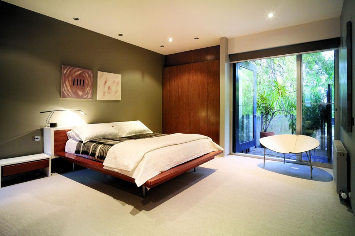 Cozy bedroom ideas for Bedroom interior designs green