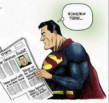 Tebow/Superman