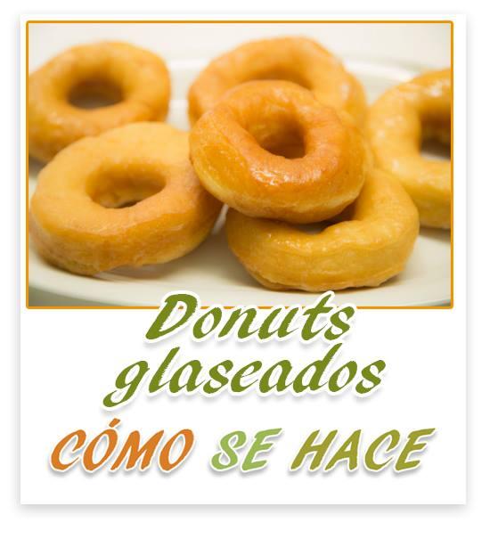 DONUTS GLASEADO...