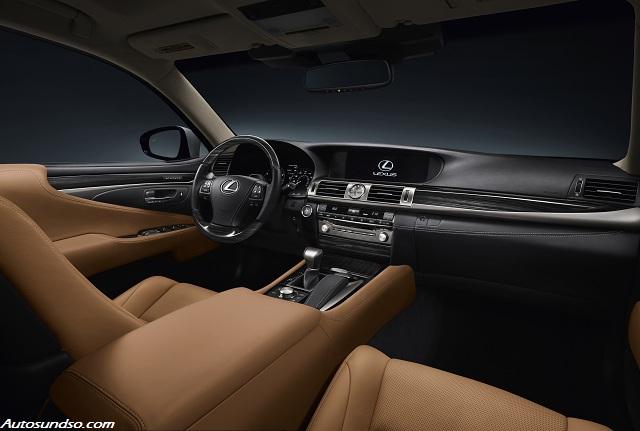 Lexus LS mit innovativem Innenraumbeleuchtungssystem AIS