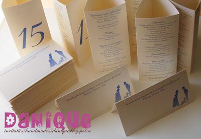 meniuri + numere de masa prisma si placecarduri pentru nunta si botez 2in1
