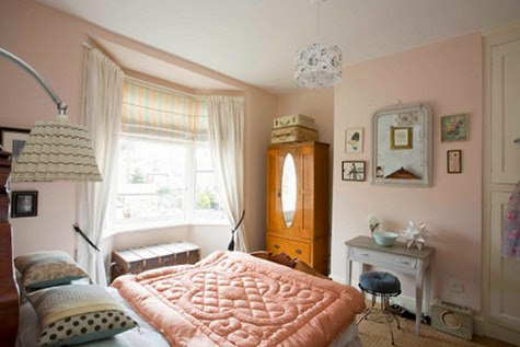 Pastel pink can work in many guises and should not be confined to a