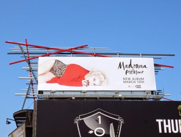 Madonna Rebel Heart billboard